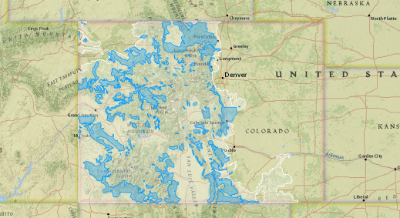 Black Bear Distribution and Habitat in Colorado