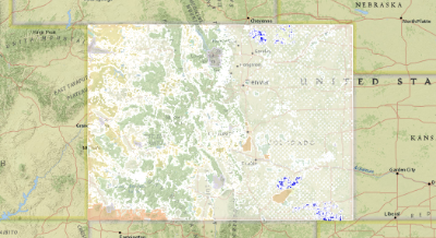 Colorado Public and Private Land Ownership