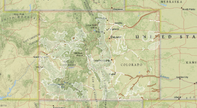 Turkey Distribution and Habitat in Colorado