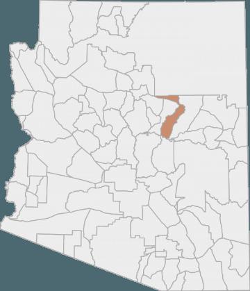 Map Of Unit 4a Arizona.Elk Hunting In Arizona S Game Management Unit 4a Huntscore